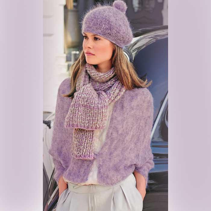 Вязание для женщин. Берет крючком, шарф, снуд и кейп спицами