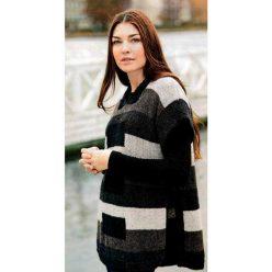 Вязание для женщин. ТУНИКА-ПОНЧО СПИЦАМИ С КАПЮШОНОМ