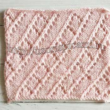 красивый ажурный узор спицами схема, простые ажурные узоры со спицами, ажурные узоры спицами со схемами простые, красивые ажурные узоры спицами со схемами, вязание спицами новинки