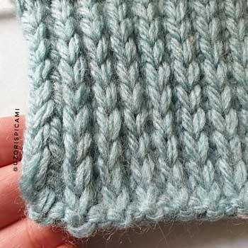 Плотный рельефный узор спицами, схема узора