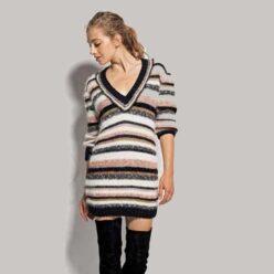 Вязание для женщин. Платье спицами