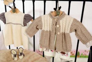 Вязание для малышей ПЛАТЬЕ И ПИНЕТКИ СПИЦАМИ