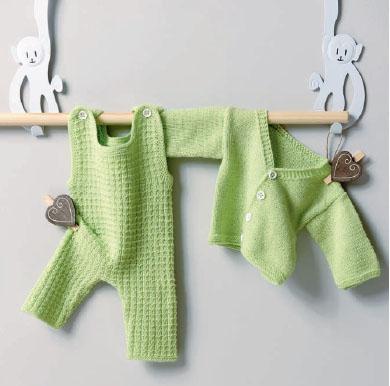 Вязание для малышей ПОЛЗУНКИ И ЖАКЕТИК СПИЦАМИ