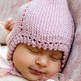 Вязание для малышей ШАПОЧКА, ПИНЕТКИ И ВОРОТНИК-МАНИШКА СПИЦАМИ