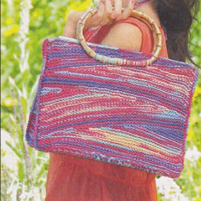 Меланжевая сумка