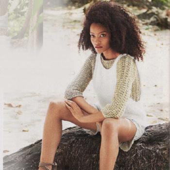 Вязание для женщин. Летние пуловер и жилет спицами