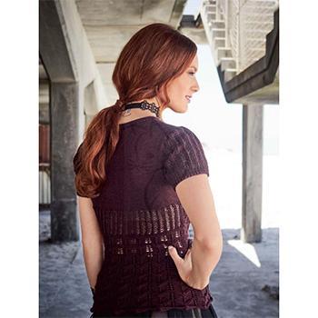 Вязание для женщин. Женственный пуловер спицами