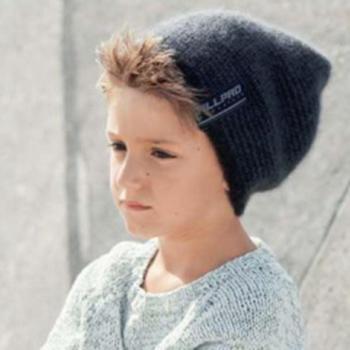 Вязание для детей. Шапка спицами для мальчика