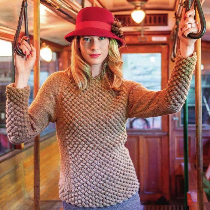 Вязание для женщин. Пуловер реглан спицами
