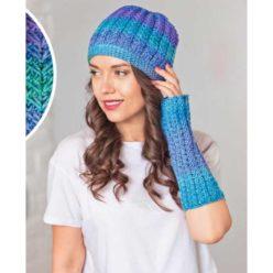 Вязание для женщин. Берет и митенки спицами