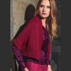 Вязание для женщин. ЖАКЕТ-БОЛЕРО СПИЦАМИ