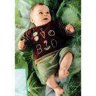 Вязание для малышей. Пуловер и штанишки спицами для мальчика